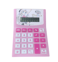 Japanese calculator 10 Digit Cartoon Voice Calculator Desktop Calculator