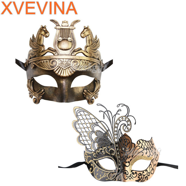 Masquerade Masks Couple Women and Men Mask For Masquerade / Party / Ball Prom / Mardi Gras / Wedding / Wall Decoration