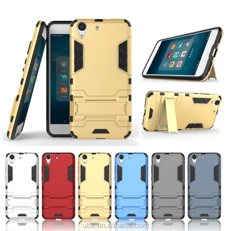 For Huawei Honor 5A Cases Hybrid Dual Heavy Duty Hard Silicone+PC Iron Man