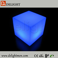3d led cube/ led cube seat lighting/ small cube chairs