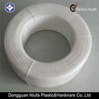 100% PE manufacturer supply nose wire disposable face mask