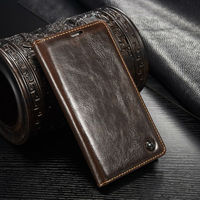 100% Hot Leather Wallet Case for S5, for Samsung Galaxy S5 luxury phone caseme flip wallet case