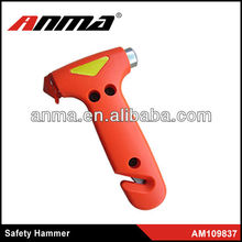 High quality of emergency car safety hammer/auto safety hammer