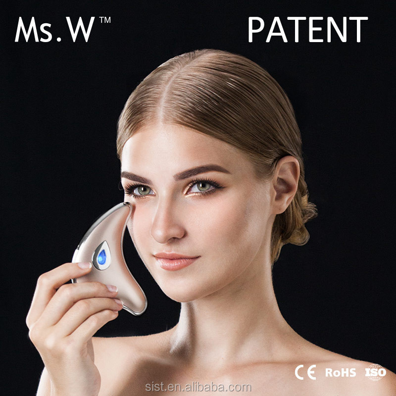 Ms.W China Alibaba Factory Supply Best Battery Operated Vibrating Head Eye Care Wrinkle Massager