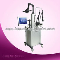 Fat cavitation liposuction multipolar RF thermal slimming machine with CE approval