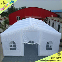 Hot-selling outdoor wedding big inflatable tent china large custom inflatable led cube tent price for party