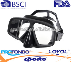 Manufacturer Supplier hot sale water snorkeling dive eyewear with wide view