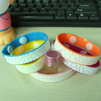 Wholesale simple natural mosquito repellent wrist bands bracelet