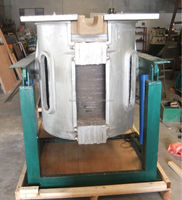 Mechanical Tilting Steel Billets Induction Melting oven/Furnace