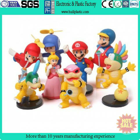 Super Mario plastic vinyl toy figure/making design vinyl toy/decorating vinyl toy for wholesale