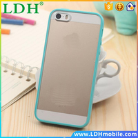 For iPhone 6 6S Plus case Fashion Slim Colorful TPU Frame Clear Transparent Matte cell phone case For iPhone 6S case