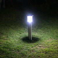 garden light with solar panel,solar led garden light with sensor motion made in China