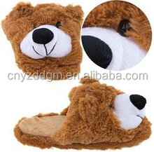 animal slippers adult plush indoor slipper