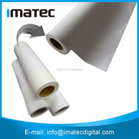 High Quality Waterproof 220gsm Polyester Glossy Canvas Print Roll,Stretched Canvas Printing Fabric