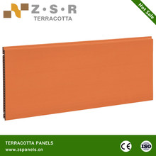 Building material outdoor clay terracotta wall tiles