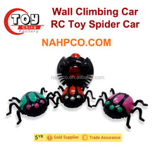 wholesale new toy children wall climbing rc spider plastic mini toy for kids