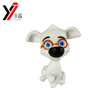 New Design Popular Sale Good Price Resin Crafts Small Plastic Dog Figurines