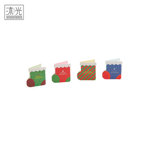 High Quality Cheap Price Special Shape Christmas Holiday Greeting Cards Printing