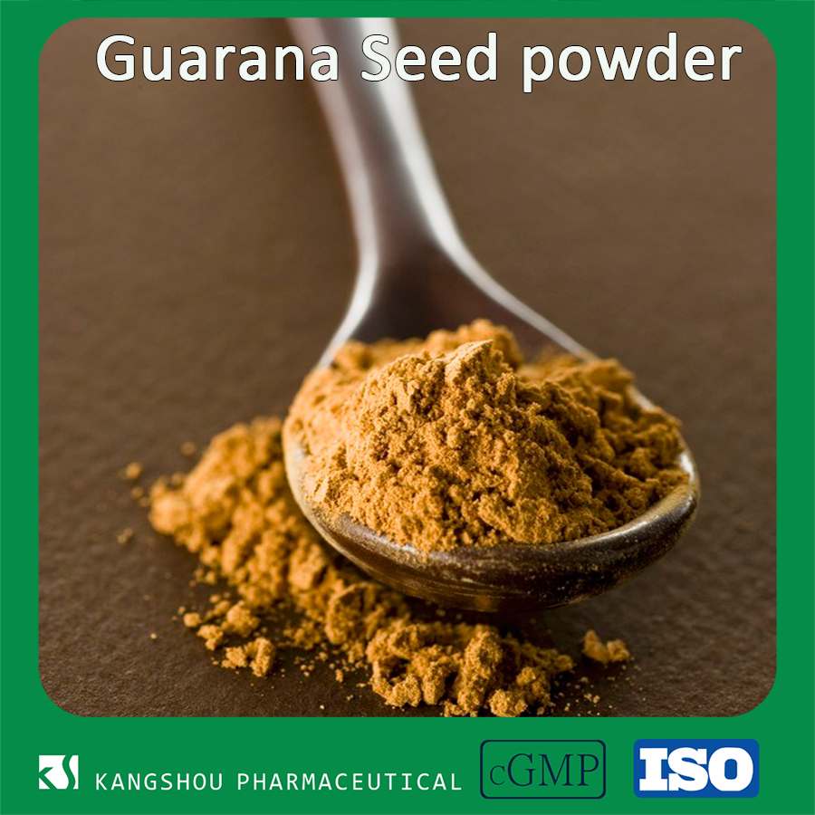 Organic Food grade Natural Weigh loss Guarana Seed extract Powder
