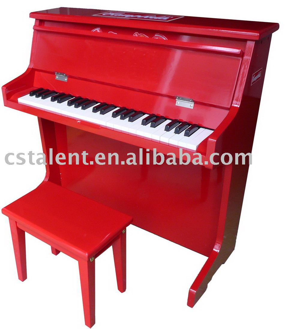 44 key kids wooden piano
