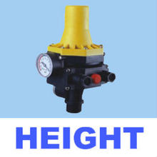 Automatic pressure control for water pump, pressure control valve, automatic water pressure control