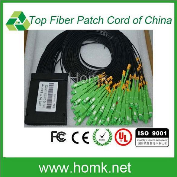 Choice Material 1 32 Casette Type Splitter Optical Fiber splitter SC APC Pigtail Fiber Optic Splitter PLC Price