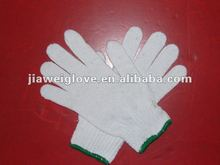 Low price best knitted cotton working gloves
