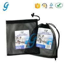 Hot sale customized golf ball mesh packing bag
