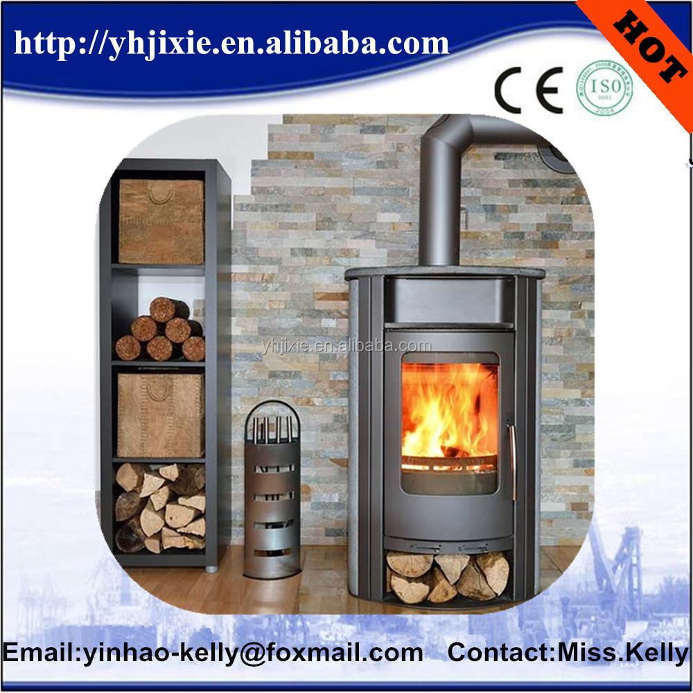 High Efficient Pellet Stove For Cooking Tow Door Design