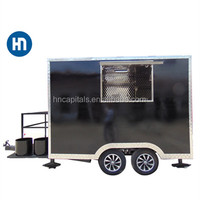 Top quality promotional Catering street mobile kitchen van commercial food carts for sale