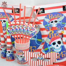 Boy Pirate Theme Birthday Party Decoration for Kids