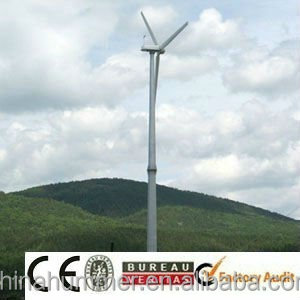 10kW wind turbine generator hydraulic tower