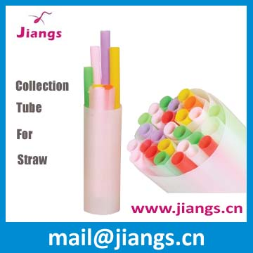Jiang's semen straw collection tube finger tube for artificial insemination of farm animal