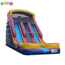 The newest adult size inflatable screamer pool water slide