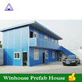 Low Cost Home Two Storey T House Sandwich Panel Prefab House