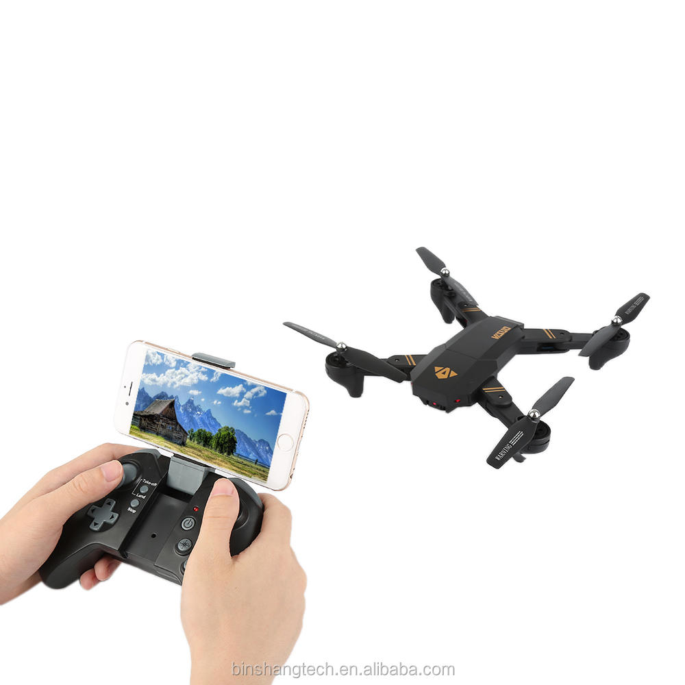 XS809W Wifi FPV 2MP 720p HD Camera RC selfie Drone Foldable Pocket Mini RC Quadcopter VS DJI Mavic Combo