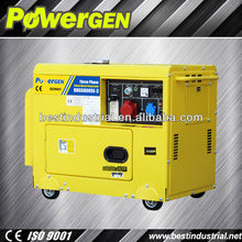 price diesel generator 5kva!!!Digital panel/ATS/Remote start electric generating diesel generators