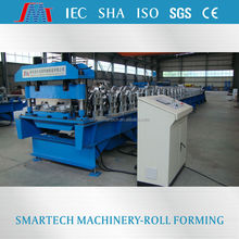 YGA344 galvanized steel sheet floor deck roll metal forming machine with electric control system