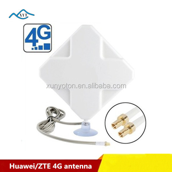 4G Mimo 35dbi Broadband dual antenna lte with TS9/CRC9/SMA for Huawei E5776 E589 ZTE MF80 MF60