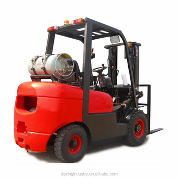 Powerful New 2 Ton LPG Forklift for Sale with Nissan Engine