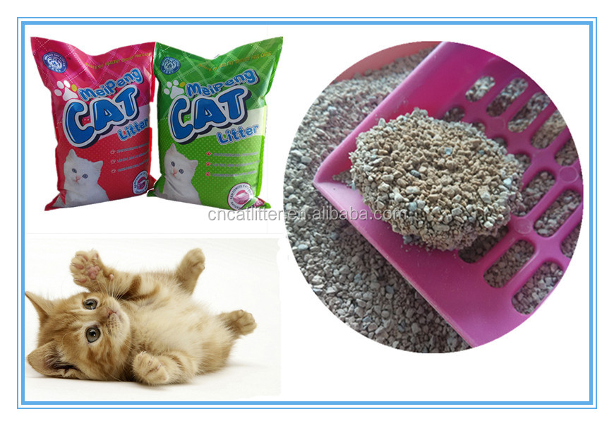 10L natural wild forest pine scent bentonite cat litter