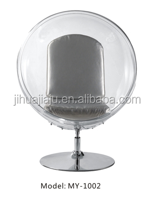 Eero Aarnio Clear Acrylic Transparent Bubble Chair With Stand