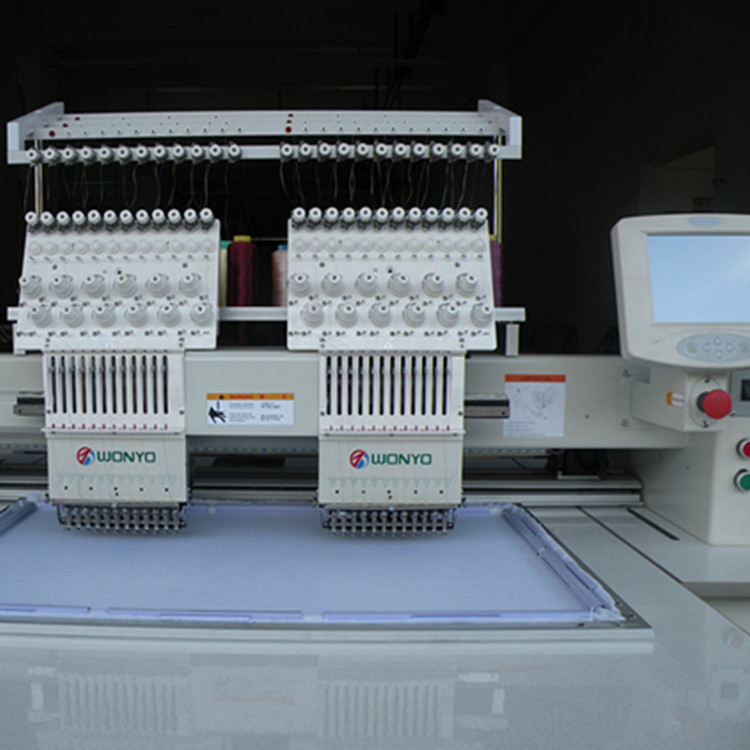 new china products for sale embroidery machine 2 head Wonyo WY902C