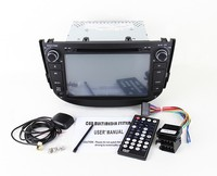 car dvd Radio for Lifan X60 Car dvd gps 1G RAM with Radio,bluetooth,USB/SD slot,steering wheel