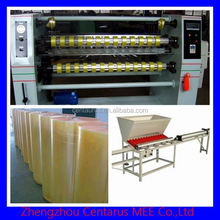 High productivity adhesive tape slitting machine/jumbo roll paper making machine with lowest price