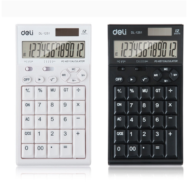 Promotional electronic financial graphing calculator