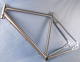 Women Disc road Titanium bike frame Cyclocross bicycle frame
