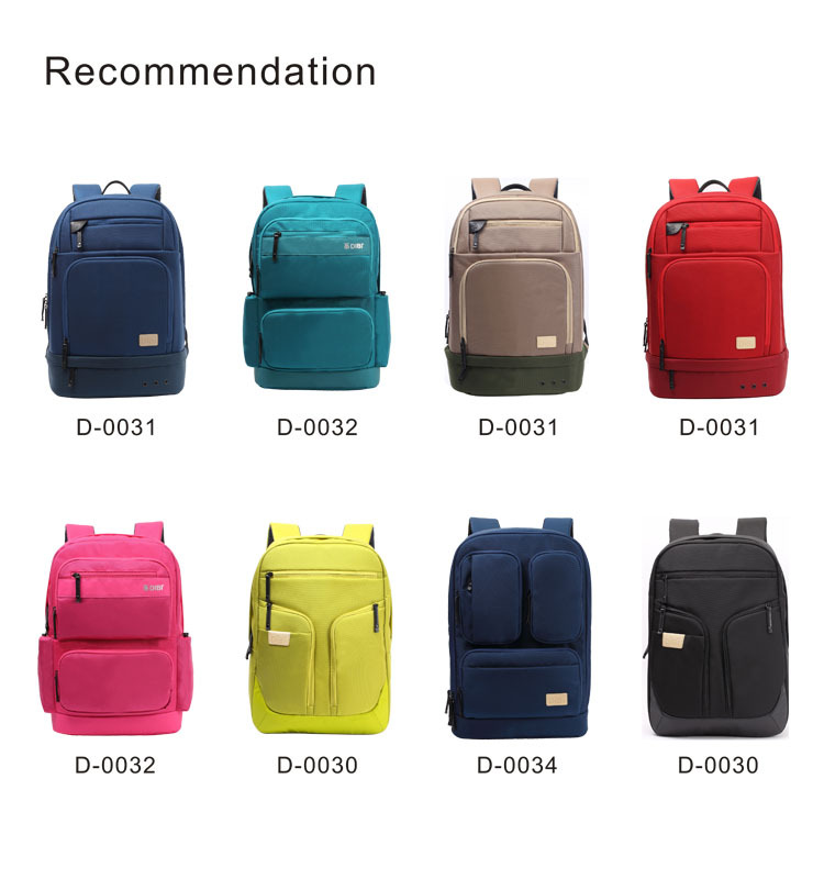 China Best Brands Wholesale Black Fashion School Bag For College ...