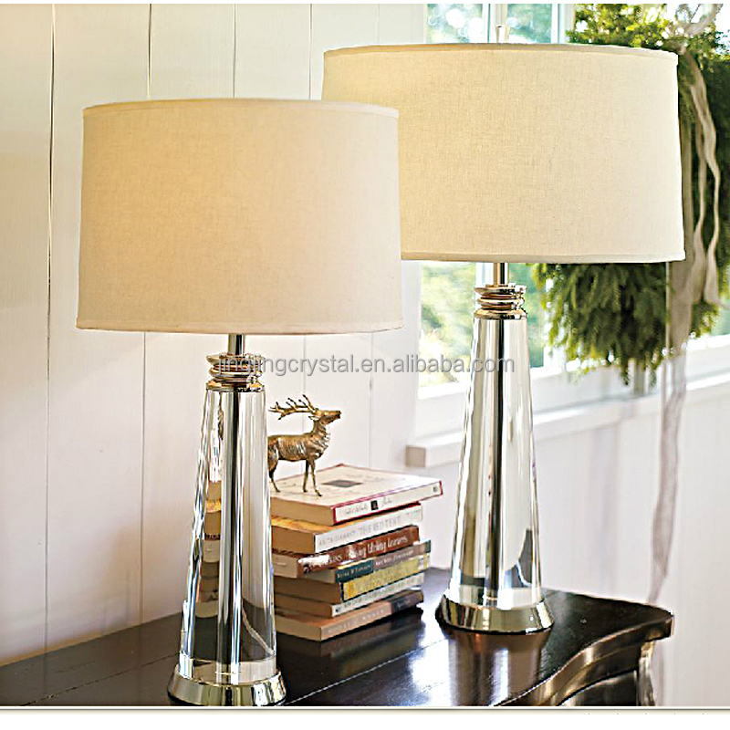Fashion Green Crystal Table Lamp for hotel home decoration