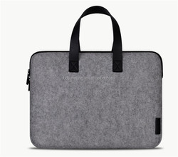 Felt material laptops and tablets size laptop bag